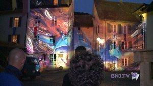 Saint-Ursanne sous les projecteurs de Gerry Hofstetter