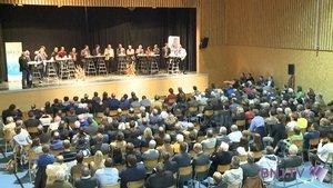 Un débat, dix-huit candidats