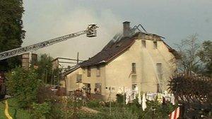 Incendie important en dessus de Develier