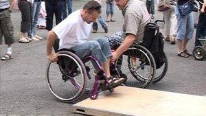 Le monde du handicap rencontre de la population