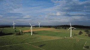 La centrale éolienne à Mont-Crosin fête ses 10 ans