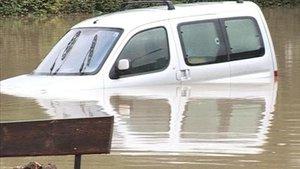 Les inondations de Delémont en images
