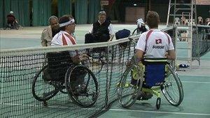 La crème du tennis en fauteuil roulant à Delémont