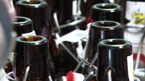 La bière coule à flots