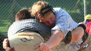 Christian Stucki remporte la Fête de lutte du Jura bernois