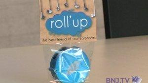 Le Roll'up : la solution aux écouteurs emmêlés