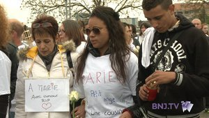 Marche blanche pour Marie