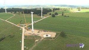 Des éoliennes remplacées au Mont-Crosin