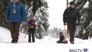 On chausse les skis ou les raquettes pour le Snow Up