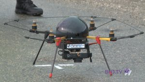 La Police neuchâteloise présente son drone